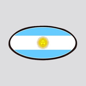 Argentina Blank Flag Patches
