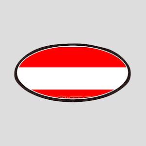 Austria Austrian Flag Patches