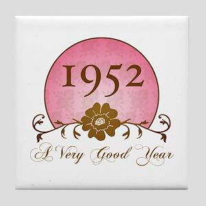 1952 A Very Good Year Tile Coaster