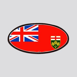 Ontario Ontarian Flag Patches