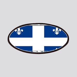 Quebec Quebecer Flag Patches