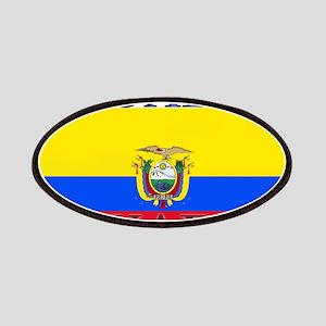 Ecuador Ecuadorian Flag Patches