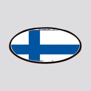 Finland Finish Flag Patches