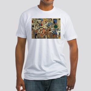 Harlequin Carnival Fitted T-Shirt