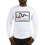 Rainbow JOIN, or DIE. Long Sleeve T-Shirt