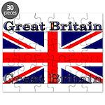 Great Britain British Flag Puzzle