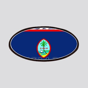 Guam Guaminian Flag Patches