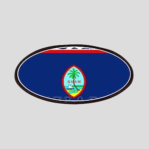 Guam Guaminian Flag Patches