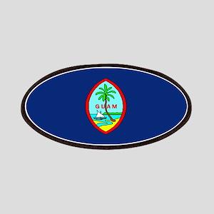 Guam Guaminian Blank Flag Patches
