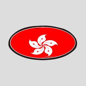 Hong Kong Flag Patches