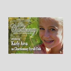 Petite Chardonnay Rectangle Magnet Karly Avva 2