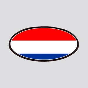 Netherlands Dutch Flag Patches