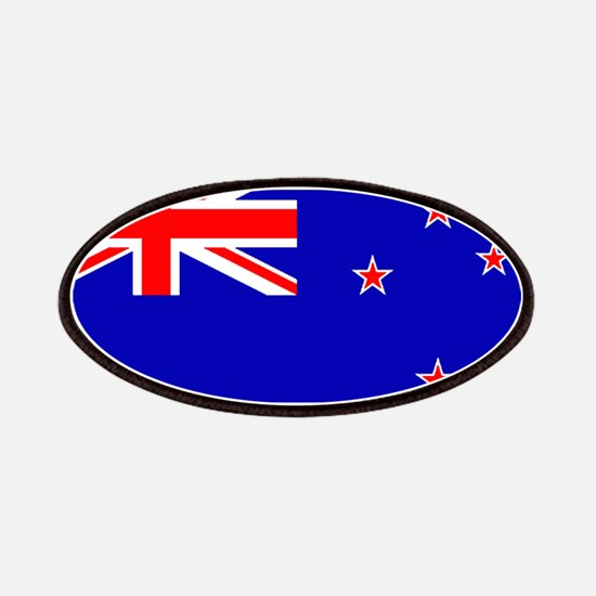 New Zealander Blank Flag Patches