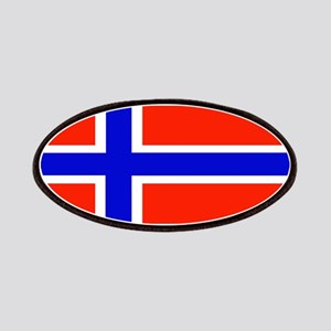 Norway Norwegian Blank Flag Patches