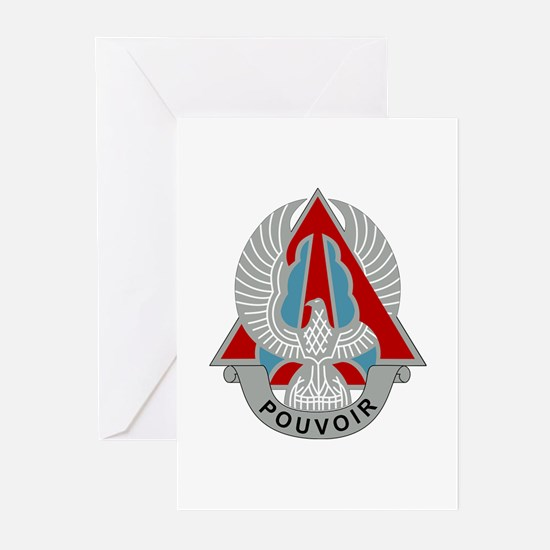 227th Aviation Regiment - DUI Greeting Cards (Pk o