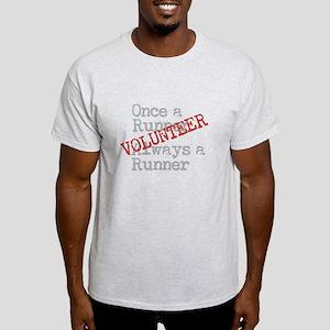 Funny Former Runner Volunteer Light T-Shirt