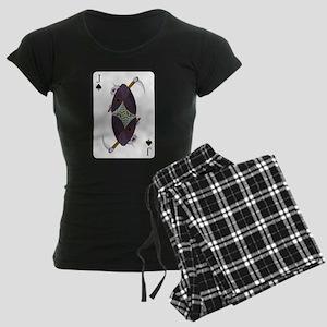 Jack of Spades Women's Dark Pajamas
