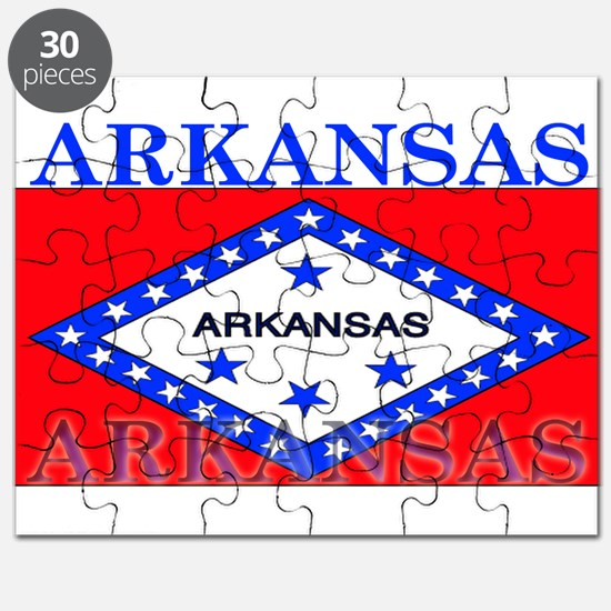 Arkansas State Flag Puzzle