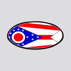 Ohio State Flag Patches