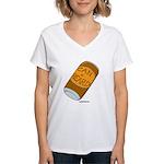 Can of Beard Women's V-Neck T-Shirt