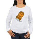 Can of Beard Women's Long Sleeve T-Shirt