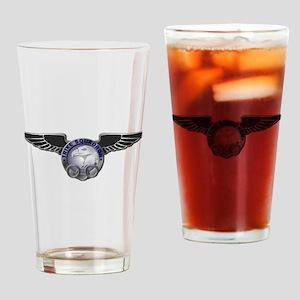 Trike Squadron Logo - Drinking Glass