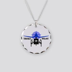 Trike Pilot - Necklace Circle Charm