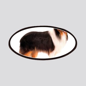 Black Rough Collie Patches