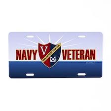 USS Skagit Aluminum License Plate
