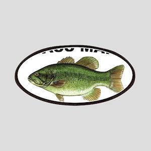 Bass Man ( Ass Man ) Fishing Patches