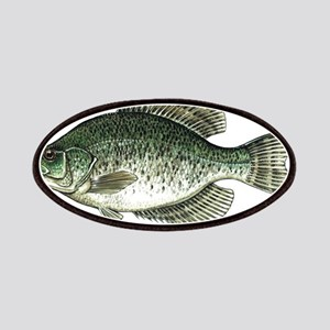 Black Crappie Fish Patches