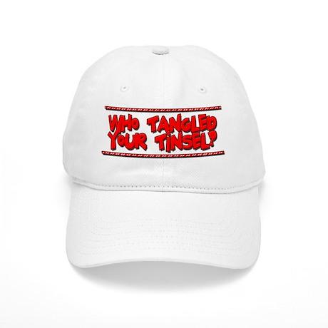 Tangled Tinsel Baseball Cap by cowhidemanstore 2a1d759aa81