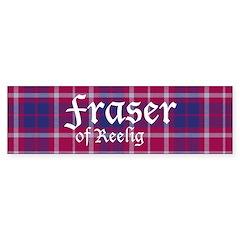 Tartan - Fraser of Reelig Sticker (Bumper)