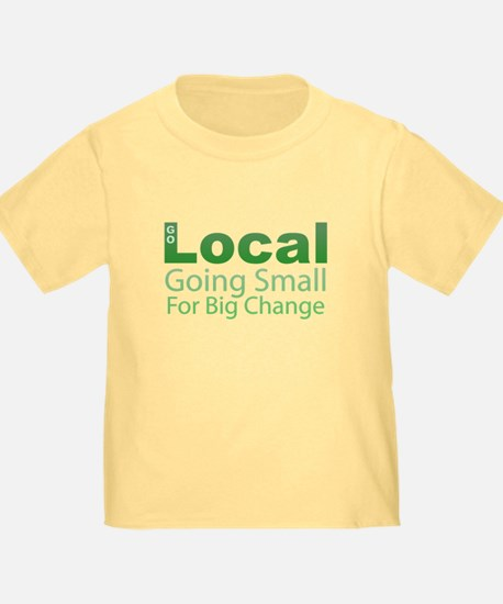 Go Local - Going Small for Big Change T
