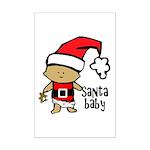 Santa Baby by Vampire Dog Mini Poster Print