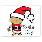 Santa Baby by Vampire Dog Small Poster