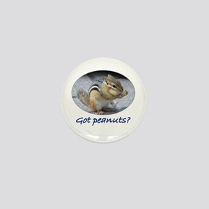 Got Peanuts? Mini Button