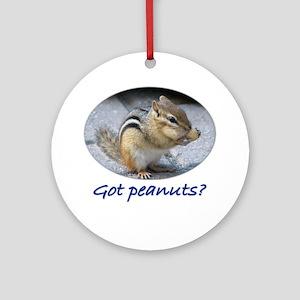 Got Peanuts? Ornament (Round)