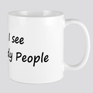 I see Nerdy People Mug