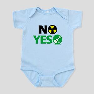 No Nukes, Yes Ukes Infant Bodysuit
