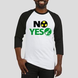 No Nukes, Yes Ukes Baseball Jersey