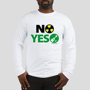 No Nukes, Yes Ukes Long Sleeve T-Shirt