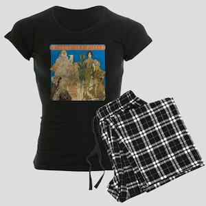 Les Girls Women's Dark Pajamas