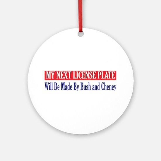 Next License Ornament (Round)