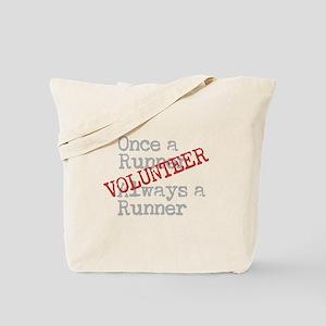 Funny Former Runner Volunteer Tote Bag
