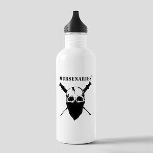 Male Nurse Stainless Water Bottle 1.0L