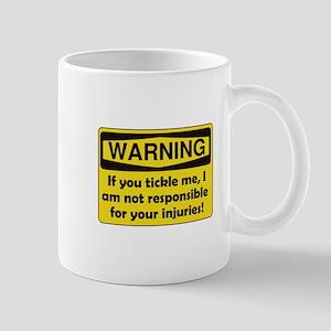 Warning Tickle Me Mug