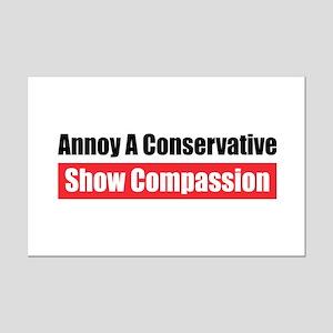 Show Compassion Mini Poster Print