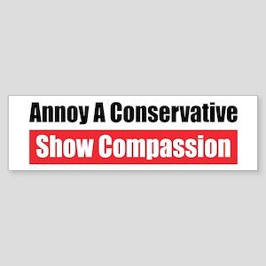 Show Compassion Bumper Sticker