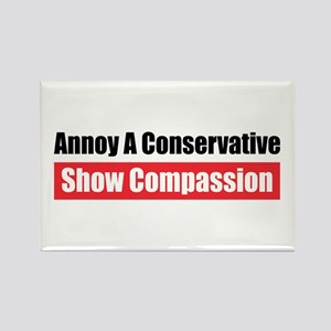 Show Compassion Rectangle Magnet